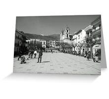 Sicilian Sunday Greeting Card