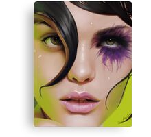Wet Canvas Print
