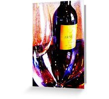 Wine Bar Greeting Card