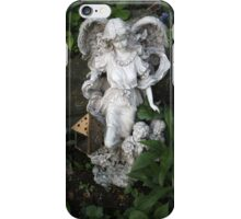 Angel and Children Statue iPhone Case/Skin
