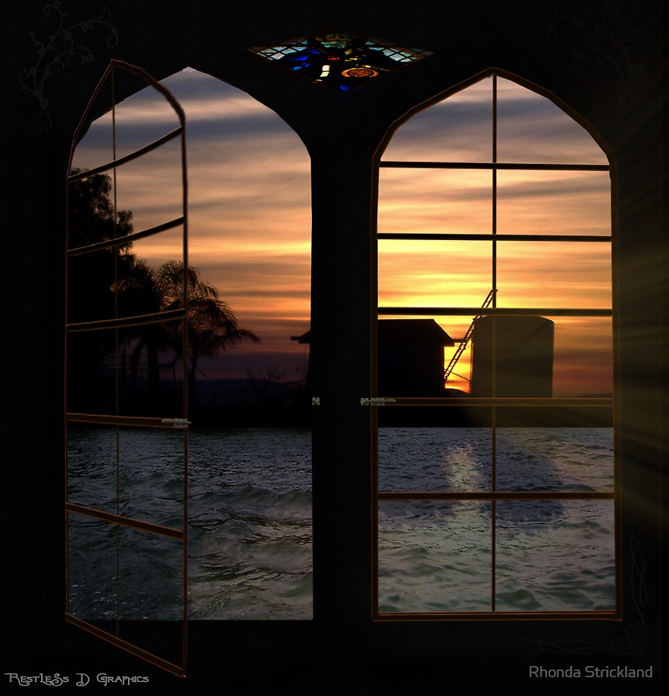 End of a Beautiful Day by Rhonda Strickland