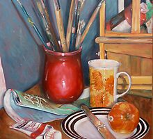 Artists Breakfast by Neale Sommersby