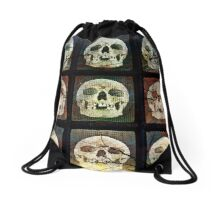 Gathering of the Happy People Drawstring Bag