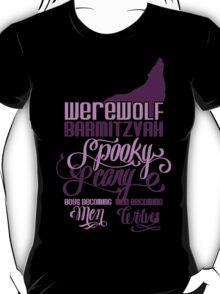 Werewolf Barmitzvah T-Shirt