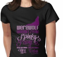 Werewolf Barmitzvah Womens Fitted T-Shirt