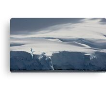 The White Continent Canvas Print