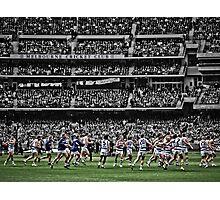 22 players, 1 team Photographic Print