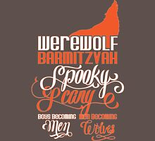 Werewolf Barmitzvah Orange Unisex T-Shirt