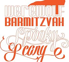 Werewolf Barmitzvah Orange by mmurgia