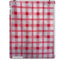 closeup pattern texture of general traditional textile style native from fabric  iPad Case/Skin