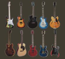Ten Guitars by usingbigwords