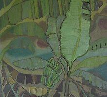 Jamaica Banana Trees by James Lewis Hamilton