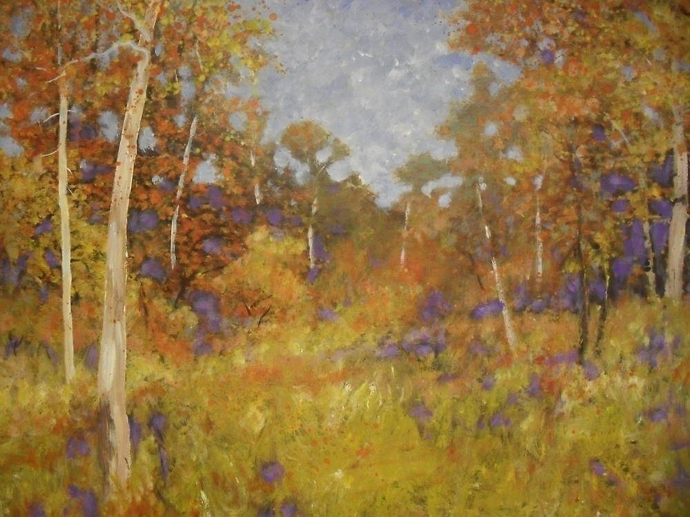 Lachlan Valley Landscape by Richard  Tuvey