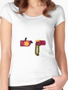 Run The Gems - No Red Background Women's Fitted Scoop T-Shirt