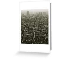 Los Angeles, CA Greeting Card