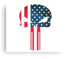 American Punisher  Canvas Print