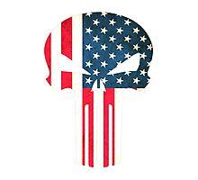 American Punisher  Photographic Print