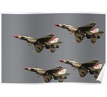 USAF Thunderbirds Poster