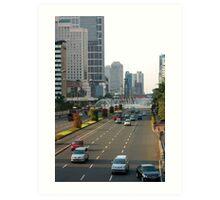 Cityscape - Jakarta Art Print