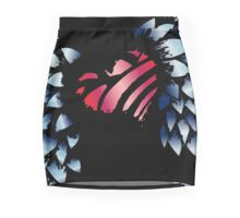 Winged Heart Pencil Skirt