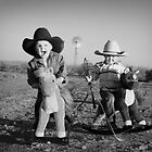 Child's Play - Cowboys by Pamela Inverarity