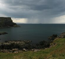 storm coming in by Kent Tisher