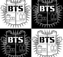 BTS Checkerboard by risachii