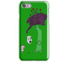 The Magic Giving Tree Finds Courage iPhone Case/Skin