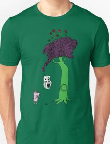 The Magic Giving Tree Finds Courage Unisex T-Shirt