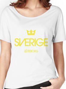 Sverige Goteborg 1 crown Women's Relaxed Fit T-Shirt