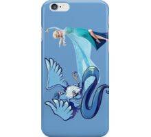 pokemon frozen articuno elsa disney anime shirt iPhone Case/Skin