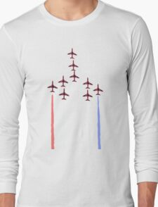 Red Arrows. Long Sleeve T-Shirt