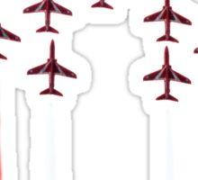Red Arrows. Sticker