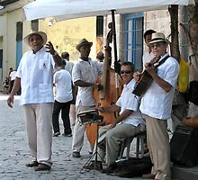 Street musicians, Havana by ecotterell