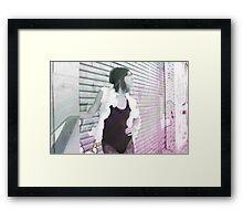 Girl Colours Framed Print