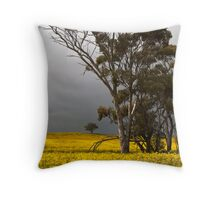 Canola & Gums, Western Australia Throw Pillow