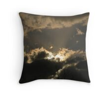 Fury of Light Throw Pillow