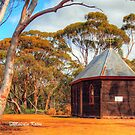 Country Church at Greenhills, WA by Malcolm Katon