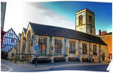 St Sampson Church - York by Trevor Kersley
