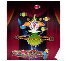 The Fleas Circus - THE CLOWN Poster