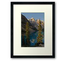 Start Another Day ~ Moraine Lake series by Barbara Burkhardt Framed Print