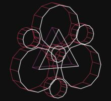 Coheed's Keywork in 3D - Neon One Piece - Short Sleeve