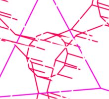 Coheed's Keywork in 3D - Neon Sticker