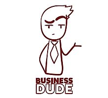 Business Dude Photographic Print