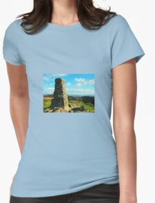 Trig Point over Windermere Womens Fitted T-Shirt