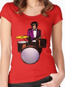 Swingin' Chimp Women's Fitted Scoop T-Shirt