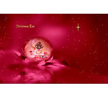 Christmas Eve Photographic Print