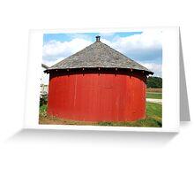 Baby Round Barn. Greeting Card