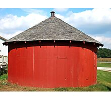 Baby Round Barn. Photographic Print