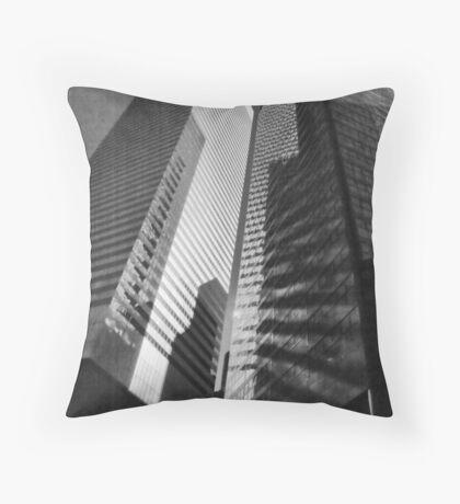 Citi Bank Building Throw Pillow